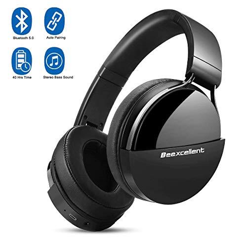 Beexcellent Q7 Auriculares Bluetooth de Diadema, Cascos