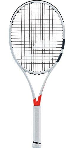 Babolat Pure Strike Jr 26 Raquetas de Tenis, Unisex niños, Blanco/Rojo, 0