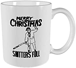 Shitters Full Coffee Mug - Griswold Christmas Vacation Gift - Cousin Eddie National Lampoons Christmas