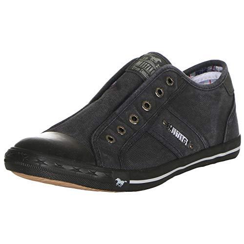 MUSTANG Shoes Herren Schuhe Slipper 4058-408-259 Graphit 43