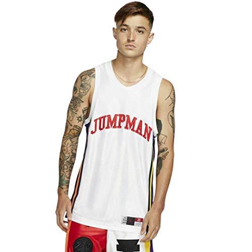 Nike AIR Jordan Sport DNA Men's Tank Top Jersey Size M White