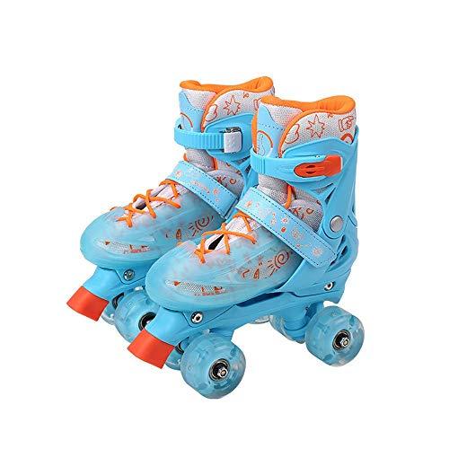 Rollschuhe in Einstellbarer Größe für Jungen und Mädchen Erwachsene , Stilvolles Design Anfänger-Rollschuhe , Street Fighter Kinder-Quad-Rollschuhe