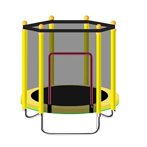 Kindersport Trampoline Trampoline met veiligheidsnet opvouwbaar en gemakkelijk op te bergen binnen/buiten Trampoline Maximaal gewicht 200kg