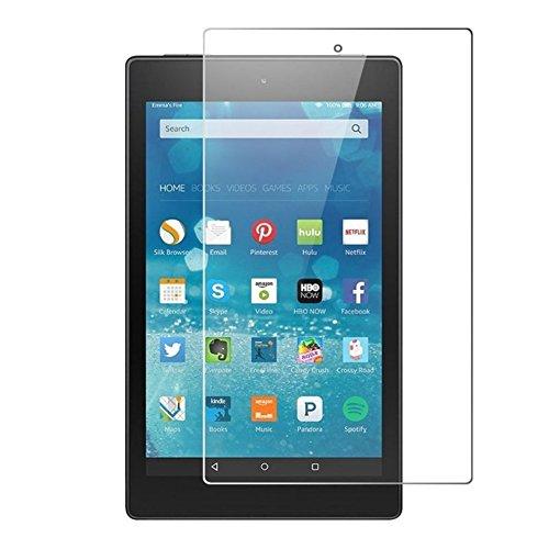 Vetro Temperato Pellicola per Amazon Kindle Fire HD8 (6. Generation 2016) 8.0 Pollice Tablet Display Protezione 9H Vetro di Protezione HD 8 NUOVO