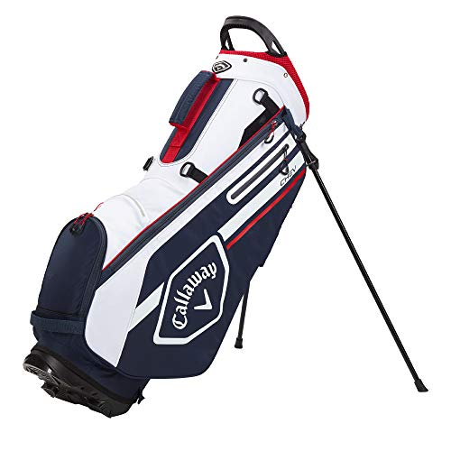 Callaway Golf 2021 Chev Stand Bag , Navy/White/Red