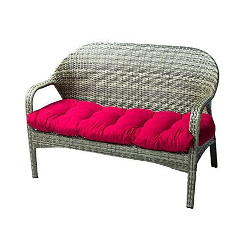 ikea utemöbler soffa röd
