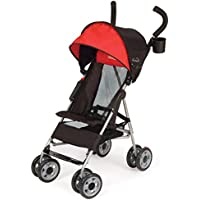 Kolcraft Cloud Lightweight Umbrella Stroller with Large Sun Canopy (Scarlet Red)