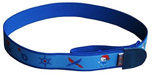 Ed&Kids Kindergürtel Ohne Schnalle Elastisch Größenverstellbar Pirat Größe S