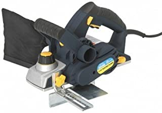 6 Amp 3-1/4-inch Heavy Duty Electric Planer with Dustbag, Edge Guide, and Built-in Blade Wrench Storage