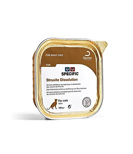 Specific Pâtée FSW Struvite Dissolution - 7 Boites 100g