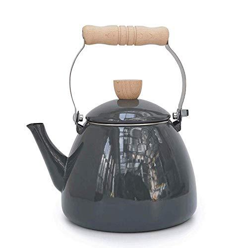 LULUTING Kettle Kettles Kettle 2.2L Soup Porridge Anti-Impact Acid Gray Alkali Thickening Teapots