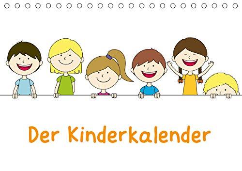 Der Kinderkalender (Tischkalender 2021 DIN A5 quer)
