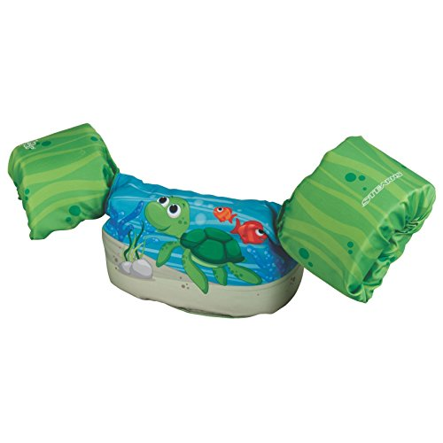 New Stearns Puddle Jumper Deluxe Child Life Jacket, Turtle