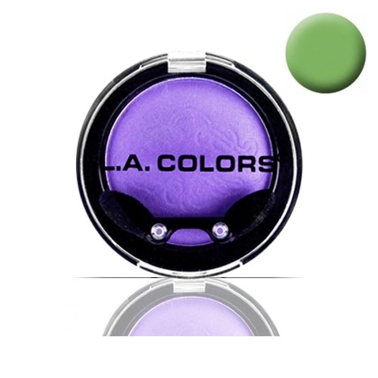 大惨事正しい挨拶する(3 Pack) LA COLOR Eyeshadow Pot - Morning Dew (並行輸入品)