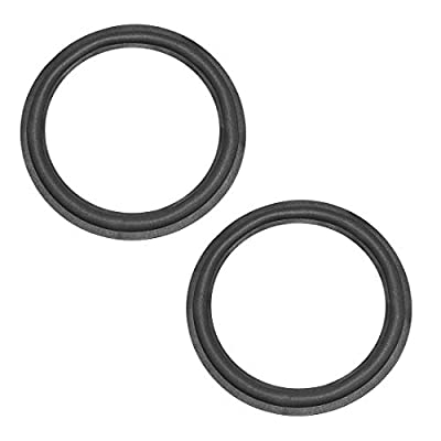 sourcing map 10 inch Speaker Foam Edge Surround Rings Replacement Parts for Speaker Repair or DIY 2pcs by sourcing map