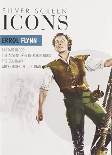 Silver Screen Icons: Errol Flynn (4FE/DVD)