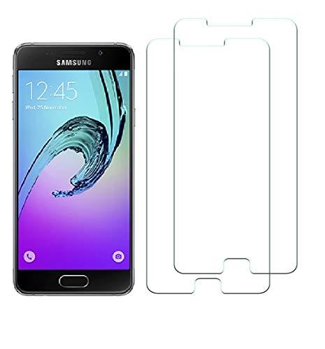WEOFUN 2 Unidades Samsung Galaxy A5 2016 Protector de Pantalla, Cristal Templado...