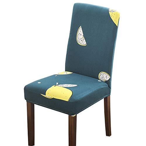 Suuki living room Stretch Chair Seat Cover,Chair Slipcovers,Chair covers for dining chairs,Polyester anti-fouling Chair Seat Cover,for party,restaurant,kitchen,universal Chair Slipcovers-A_Pack_of_6