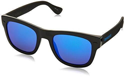 Havaianas Herren PARATY/L Z0 QFU 52 Sonnenbrille, Schwarz (Black/Grey)