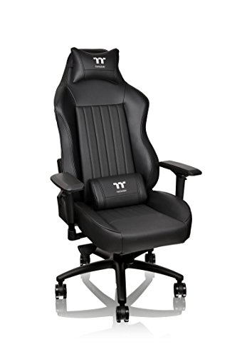 Thermaltake Tt eSPORTS X Comfort XC500 Big & Tall Racing Bucket Seat Style Ergonomic Gaming Chair Black
