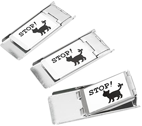 Screen Door Lock, Set of 3, Meow Meow Cat Stoppers, Cat Escape Prevention Locks
