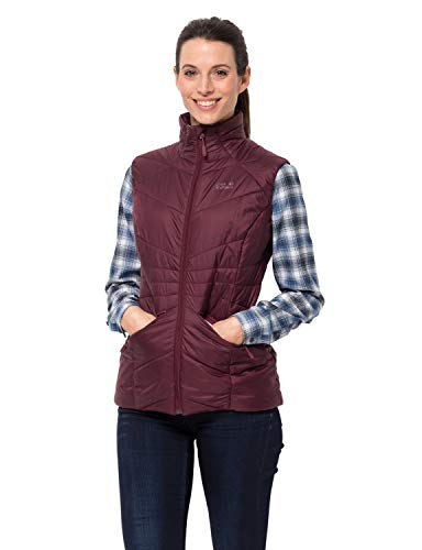 Jack Wolfskin Damen Argon Vest W Weste, Fall red, XL