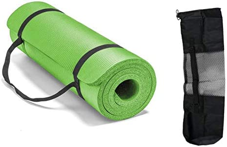 ITTA X large Non Slip Yoga Mats All Purpose Extra Thick 3 5 Inch High Density Anti Tear Exercise product image