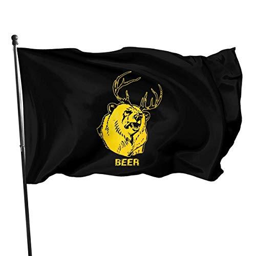 chenguang4422 Bier Het is altijd Zonnig in Philadelphia Outdoor Vlag 4x6 Voeten Decoratieve Vlag voor Achtertuin, Thuis, Feest