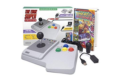 Emio The Edge Super Joystick für SNES Classic & PC, Mehrfarbig