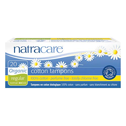 NATRACARE - Tampons Normal Sans Applicateur 20 Tampons