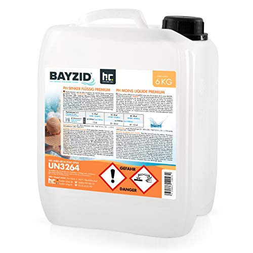 Höfer Chemie 2 x 6 kg BAYZID pH Senker Premium Minus flüssig - für einen optimalen pH-Wert