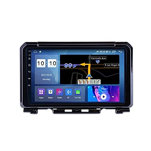 MGYQ Autoradio Reproductor MP5 para Estéreo Coche para Suzuki Jimny 2018-2020 Radio del Coche con Pantalla Táctil HD Bluetooth Soporte FM Control del Volante Carplay DSP 4G LTE,M600s