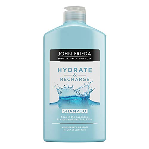 Hydrate & Recharge John Frieda Shampoo für trockenes, lebloses Haar, 250 ml
