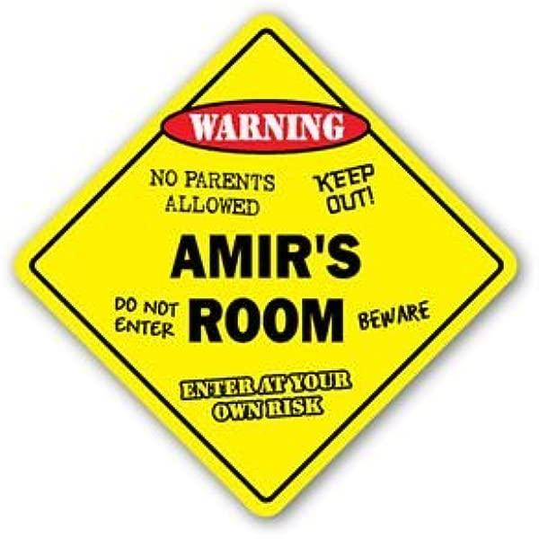AMIR S ROOM Sticker Sign Kids Bedroom Decor Door Children S Name Boy Girl Gift Sticker Graphic Personalized Custom Sticker Graphic