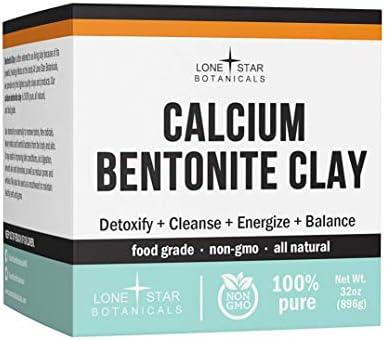 Calcium Bentonite Clay Healing Powder Pure Organic Pharmaceutical Better Than Food Grade Face product image