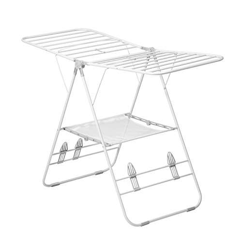Honey-Can-Do DRY-01610 Heavy Duty Gullwing Drying Rack, White
