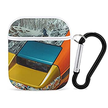 Apple Bluetooth Headset Cover Flume  Hi This Is Flume - Mixtape  Album Cover AirPods Case 1&2 comes with a key chain compatible with wired charging personalized and customized patterned prints and