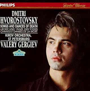 Dmitri Hvorostovsky - Songs and Dances of Death by Dmitri Hvorostovsky