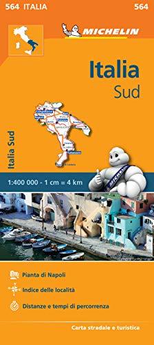 Carta stradale. Italia Sud: Map