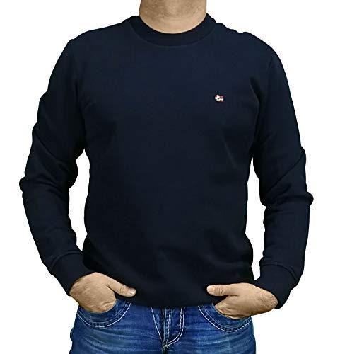 Napapijri BALIS Crew - NP0A4EW7 Sweater Heren BLU Marine L