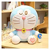 Juguete de Peluche 23-65cm Doraemon Peluche Toys Muñeca Almohada Suave para niños Regalo de cumpleañ...