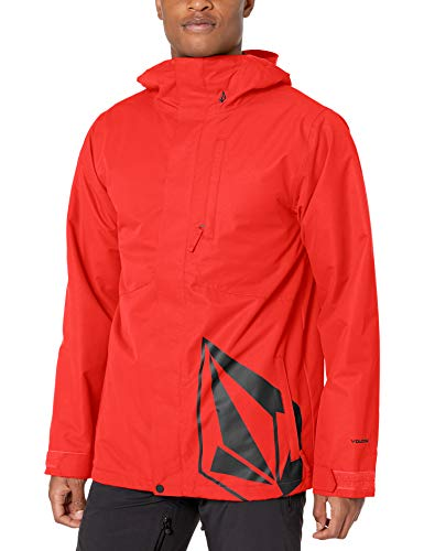 Volcom 17Fourty Insulated Snow Jacket Giacca isolata, Colore: rosso, XL Uomo