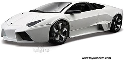11029w 4 Bburago Diamond - Lamborghini Reventon Hard Top (1 18, Weiß) 11029 Diecast Car Model Auto Vehicle Die Cast Metal Iron Toy Transport by carautoveh