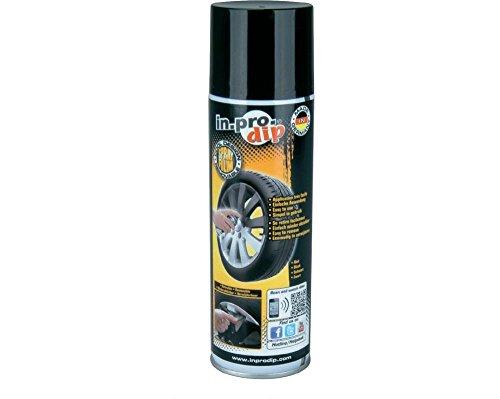 uniTEC KFZ 111197 IN.PRO.DIP Sprhfolie, schwarz, Inhalt: 400 ml