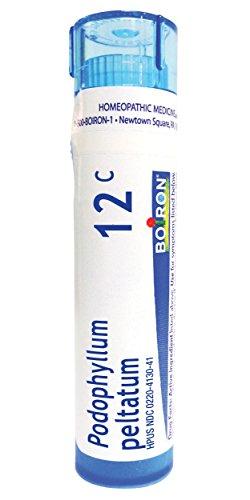 Boiron Podophyllum Peltatum 12C, 80 Pellets, Homeopathic Medicine for Diarrhea