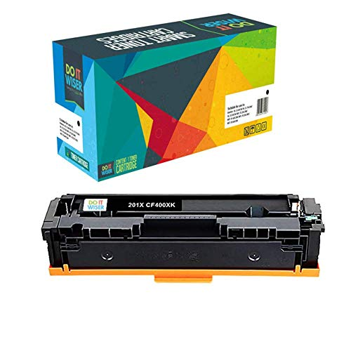 Do it Wiser Compatible Toner Cartridge for HP 201X HP CF400X CF403X CF402X CF401X for HP Color Laserjet Pro MFP M277dw M252dw MFP M277n M252n - High Yield 5 Pack Photo #2