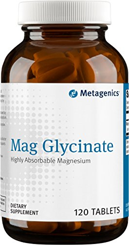 Metagenics Mag Glycinate™ – Magnesium Glycinate – Highly Absorbable Magnesium Supplement | 120 servings