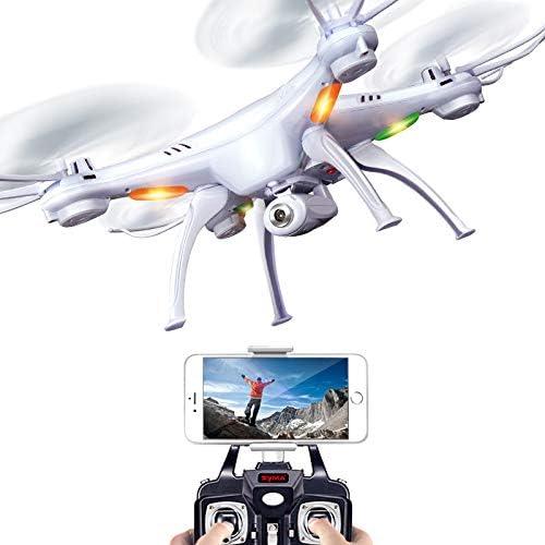 WANGKM Drohne Fernbedienung Flugzeuge Quadcopter Drohne 3D Rollen Echtzeitübertragung Headless Modus Kinder Spielzeug Flugzeuge