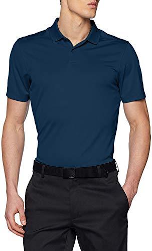 Nike Herren Poloshirt Dri-Fit Victory, College Navy/Black, L, 891881-419