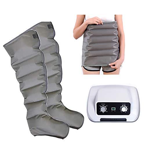 FAIRPrin Leg Massager, Portable for Arms Calf Legs Foot, 6-Chamber Massage, The Best Gift for Family and Friends,Host+Waist+2leg